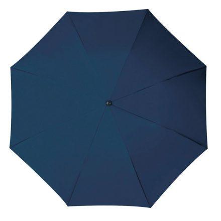 Összecsukható, teleszkópos  esernyő, sötétkék