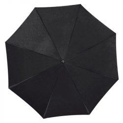 UV-szűrős alumínium automata esernyő, fekete