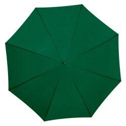UV-szűrős alumínium automata esernyő, sötétzöld