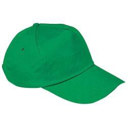 Vászon baseballsapka, zöld