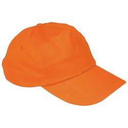 Vászon baseballsapka, narancs