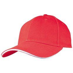 SANDWICH baseballsapka, piros