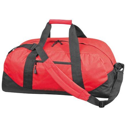 600 D gyöngyvászon sporttáska, piros