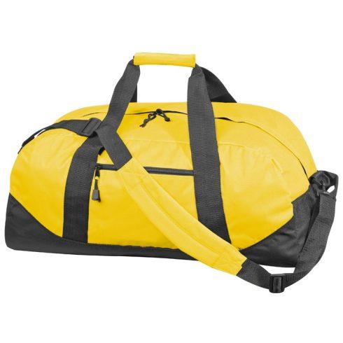 600 D gyöngyvászon sporttáska, sárga
