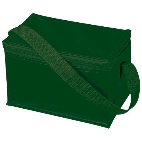 Mini hűtőtáska vállpánttal, zöld