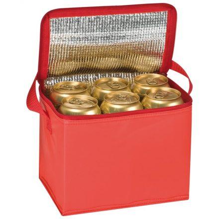 Hűtőtáska vállpánttal, piros