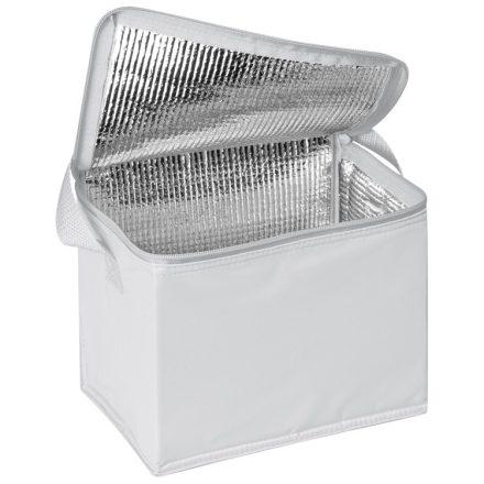 Hűtőtáska vállpánttal, fehér
