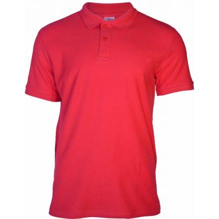 Keya galléros piké póló, piros