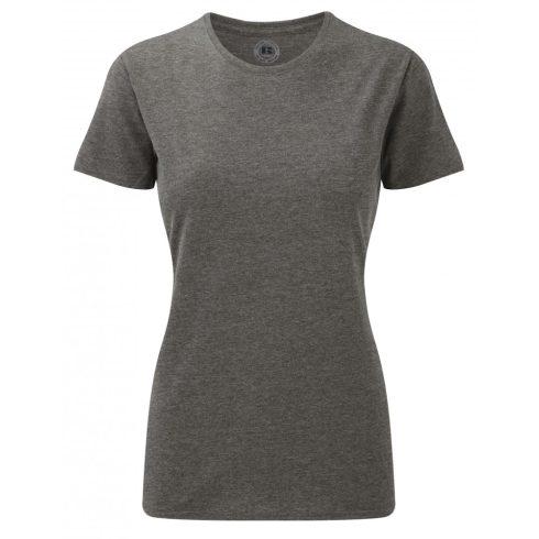 Karcsúsított fazonú, Russell Női póló, Grey Marl