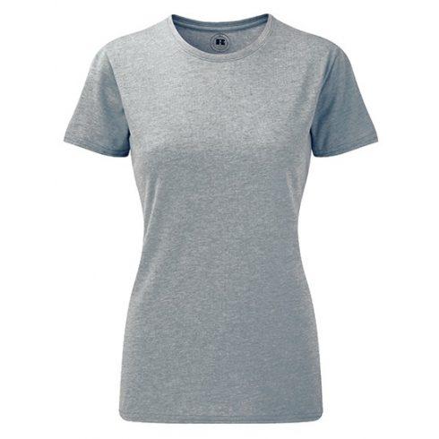 Karcsúsított fazonú, Russell Női póló, Silver Marl