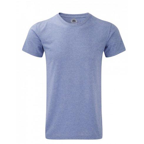 Karcsúsított fazonú, Russell  férfi póló, Blue Marl
