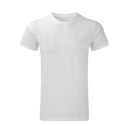 Karcsúsított fazonú, Russell férfi póló, fehér