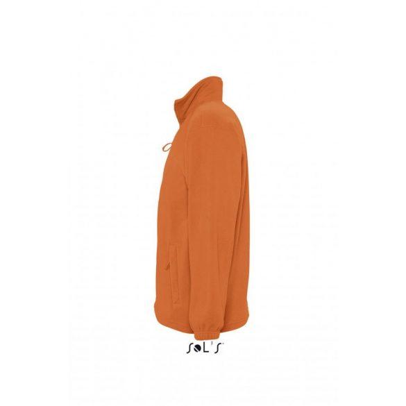 Sol's NORTH férfi polárpulóver, narancs