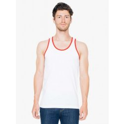 American Apparel AA2408 White/Red