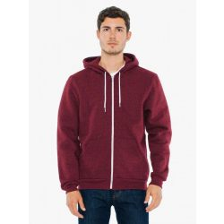American Apparel AAMT497 Peppered Cranberry