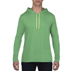 Anvil AN987 Heather Green/Neon Yellow