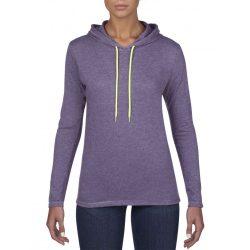 Anvil ANL887 Heather Purple/Neon Yellow