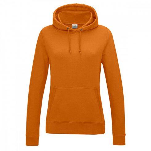 Just Hoods AWJH001F kapucnis Női pulóver, Orange Crush