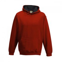 Just Hoods AWJH03J Fire Red/Jet Black