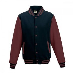 Just Hoods AWJH043 Oxford Navy/Burgundy