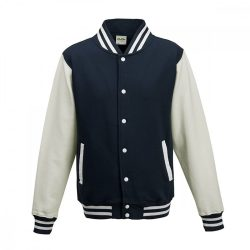Just Hoods AWJH043 Oxford Navy/White