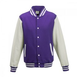 Just Hoods AWJH043 Purple/Arctic White