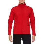 Gildan GILSS800 softshell Női dzseki, Red