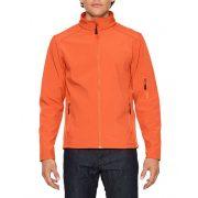 Gildan GISS800 softshell dzseki, Orange