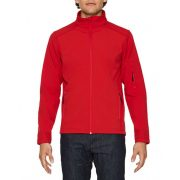 Gildan GISS800 softshell dzseki, Red