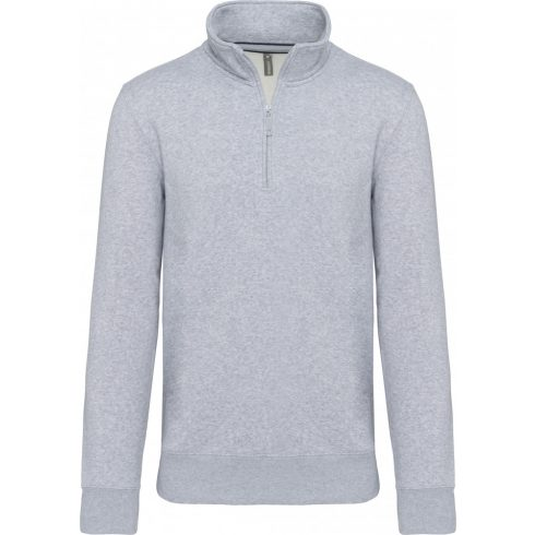Kariban KA487 galléros férfi pulóver, Oxford Grey