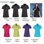 Premier PR687 Black/Hot Pink