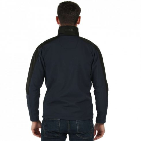 Regatta RETRA650 kapucnis férfi softshell dzseki, Navy/Black