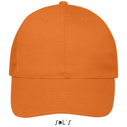 SOL'S Buffaló baseballsapka, 6 paneles,  Orange