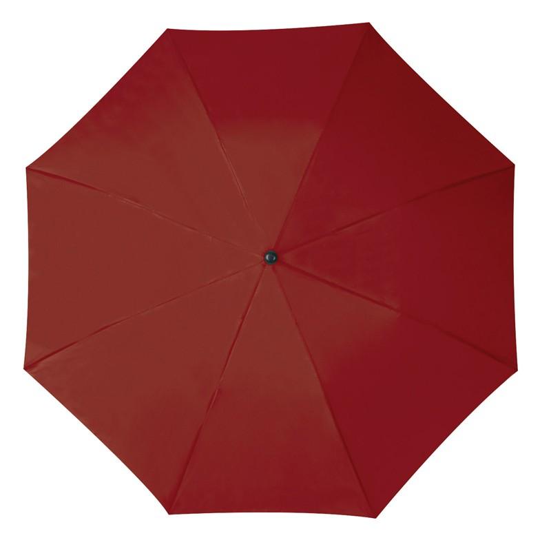 Összecsukható, teleszkópos esernyő, burgundy